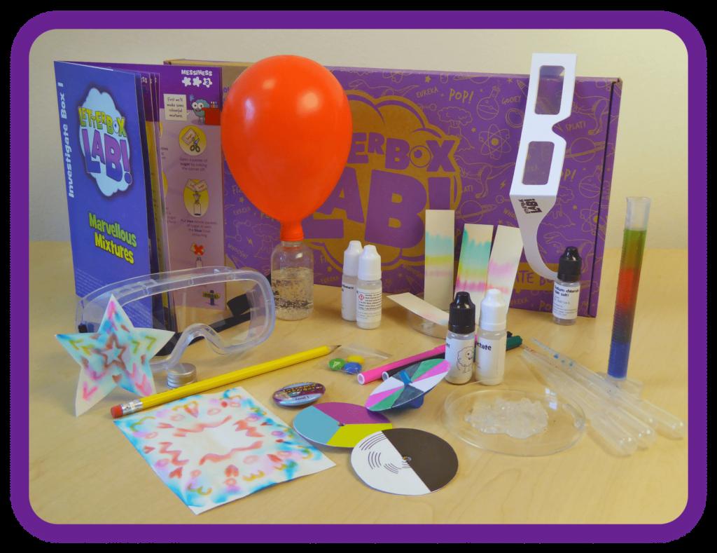 Investigate Box, science kit for children aged 8+