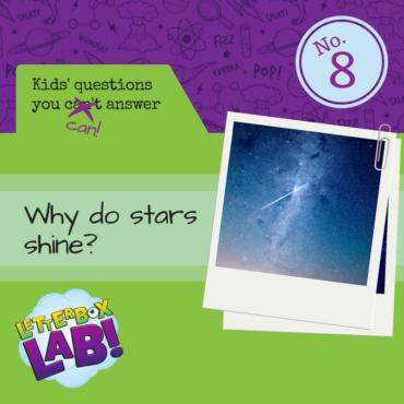 Why do stars shine?
