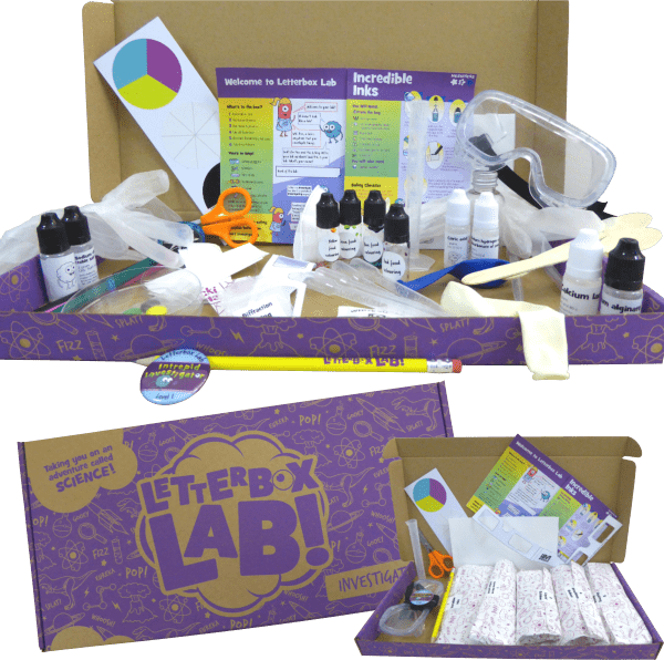 The Investigate Science Subscription Box from Letterbox Lab