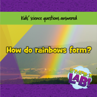 How do rainbows form? And what is a rainbow anyway?