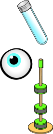 test tube eye ball floating magnets