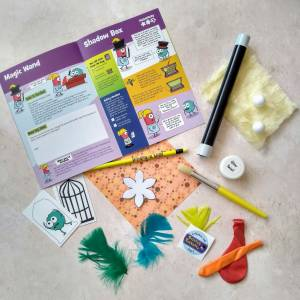 Explore Box 2: Science Sorcery, part of Letterbox Lab's science subscription box