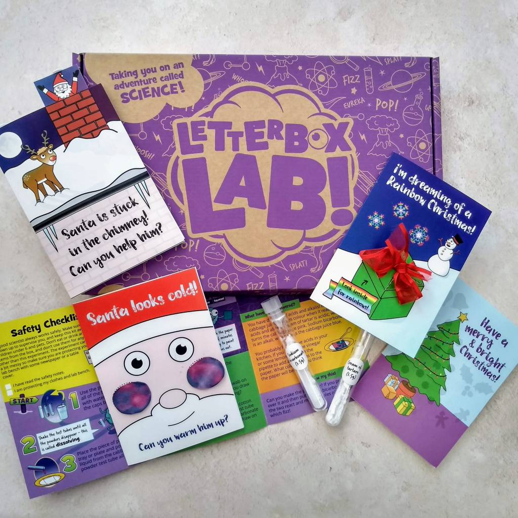 STEM Christmas Christmas card-making kit
