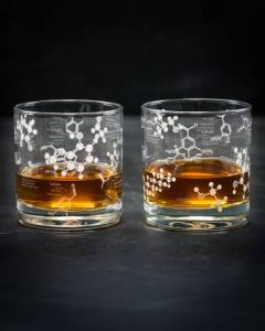 Chemistry of Whiskey Glass Tumbler, £32.34, Cognitive Surplus