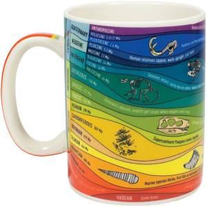 Geologic Time Mug, £10.99, The Present Indicative