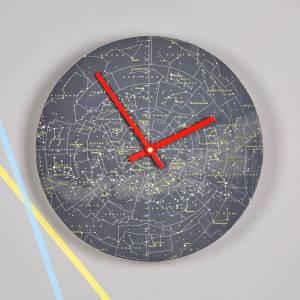 Stars and constellations map clock, £60, Bombus